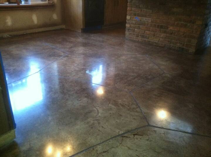 Residential Stained Concrete Floors: Stained Concrete Austin Tx